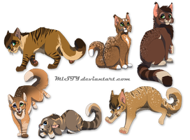 DustspotXcrookedpath hypo kits by DancingfoxesLF