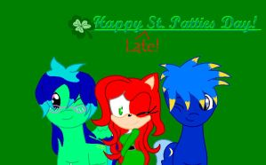 Happy :LATE: St. Patties Day by halleythehedgie76