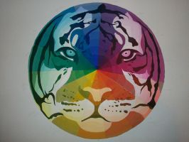 Tiger Color Wheel 9--FINISHED by ForeverTheLastRaven