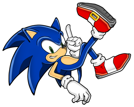 Sonic again by Hypo-Thermic