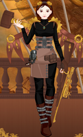 Calie-Steampunk Style by Maria65