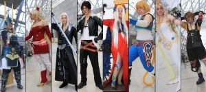 Dissidia Group Berlin II by Kaalii