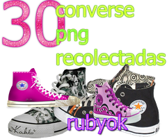 30 converse png by rubyok