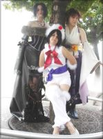Ladies of Final Fantasy X by Red-Ribbon-Cosplay