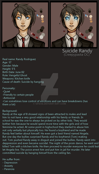 Creepypasta OC: Suicide Randy by GFexe