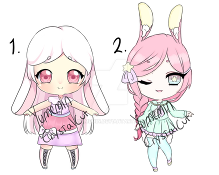 Collab adopts Bunnies! [2/2 open] by Yumemin