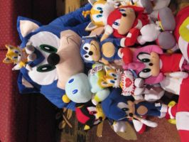 My Sonic Plush Collection by SonikkuForever