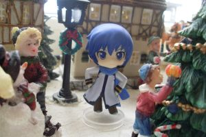 Kaito on the Christmas fair by Mako-chan89