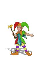 Happy the Jester by CandyKappa