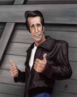 Fonzie by SupermanBatman