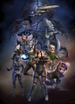 Mass Effect: Gathering Storm cover 2 by stupjam