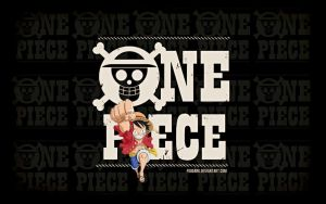 One Piece's logo wallpaper. by fogdark