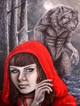 Encountering Red by Sidonie