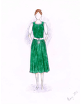 Redesign of Traditional German Dirndl by LittleHayseed