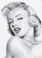 Marilyn Monroe by pamslaats
