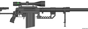 M2000 Anti-Material Rifle by sandrock62