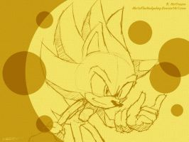 SW: March 2011 - Super Sonic by Metal-CosxArt