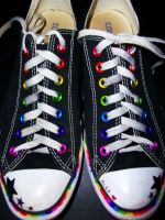 sharpie shoes by IllRebel2Anything