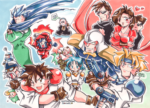Gunstar Heroes by EsusE
