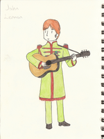 Sgt Pepper John by cupcakesfromhell