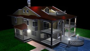 3D House Project by Matjulski