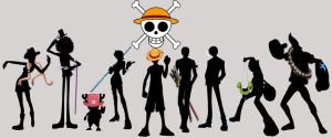 The Straw Hat Pirates by Wendbria