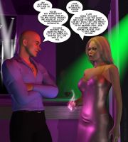 Amber at the club - Pg. 1 by sexycurvybabe