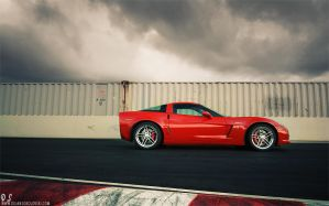 Corvette C6 Z06 - side shot by dejz0r