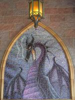 Mosaic - Sleeping Beauty II by disneyland-stock
