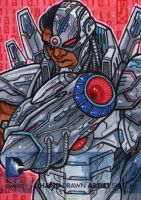 john jackman dc new 52 cyborg by johnjackman
