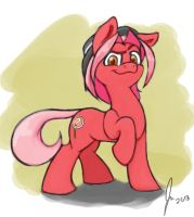 Red Herring (Entry for OC Plush Contest) by Balderdash999
