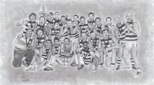 Geelong Cats Premiers 2011 by Jarryn