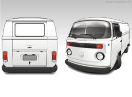 kombi bau vector by giographics