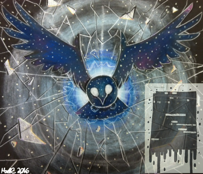 Cosmic Space Bird by The-MadR