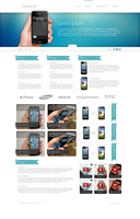 mobilephones web design by ignart0
