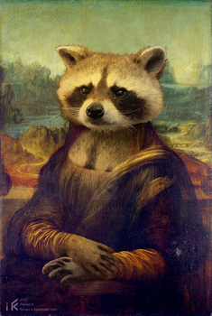 Coona Lisa by Florian-K