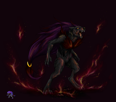 Shiny Zoroark by Asura1