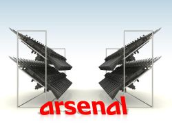 arsenal 3d by drking77