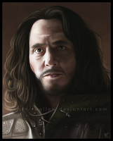 Art Trade: Jory Cassel from Game of Thrones by barn-swallow