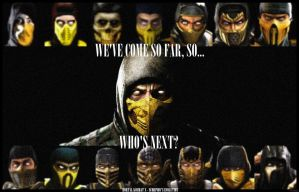 Mortal Kombat X - SCORPION'S EVOLUTION by StainBreak