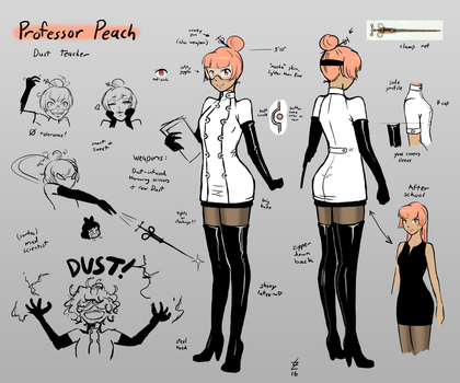 Professor Peach concept extended by RainshadowArtist