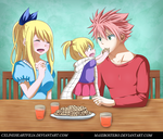 Dragneel Family. by Maxibostero