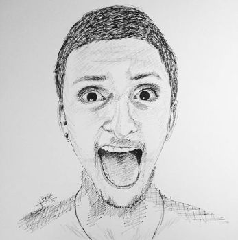 A Pen Drawing by bianqui-creates