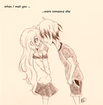 when I met you... were someone else by Herika-chan