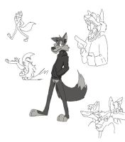Warren wolf by DeeJaysArt1993