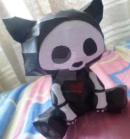 Skelanimal Papercraft by carito96inu