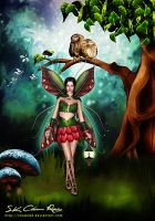 Fantasy fairy by SK-DIGIART