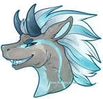 COM: Icy Death Badge by Solar-Paragon