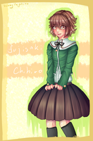Chihiro Fujisaki (AT) by SunnyVaiprion