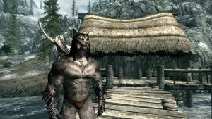Wolfger's Dream body in Skyrim by Wolfgerlion